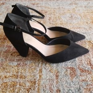 ASOS Shoes Black Pointy Toe Low Heels